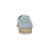 Damen-Loafers aus Leder bata, Blau, 519-9605 - 15