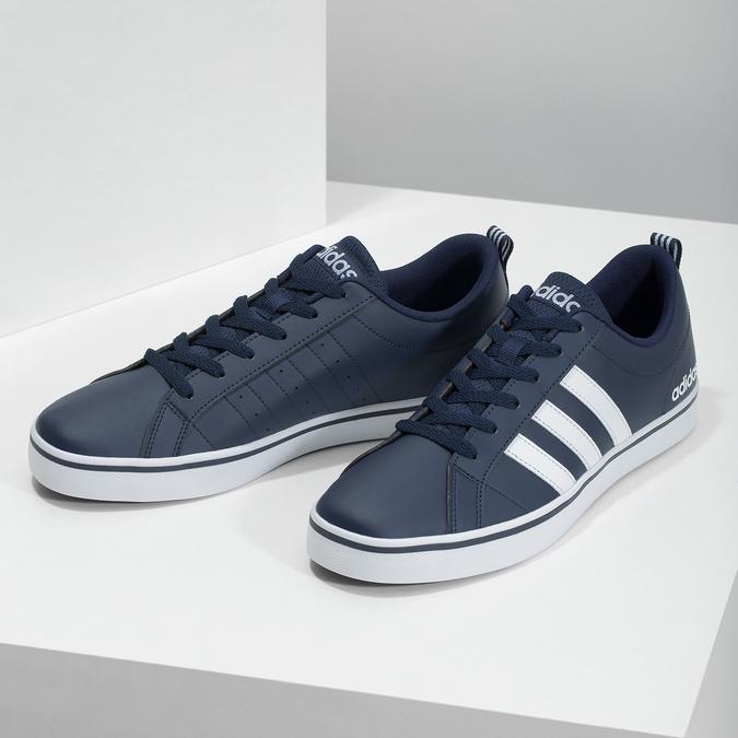 Legere Herren-Sneakers adidas, Blau, 801-9136 - 16